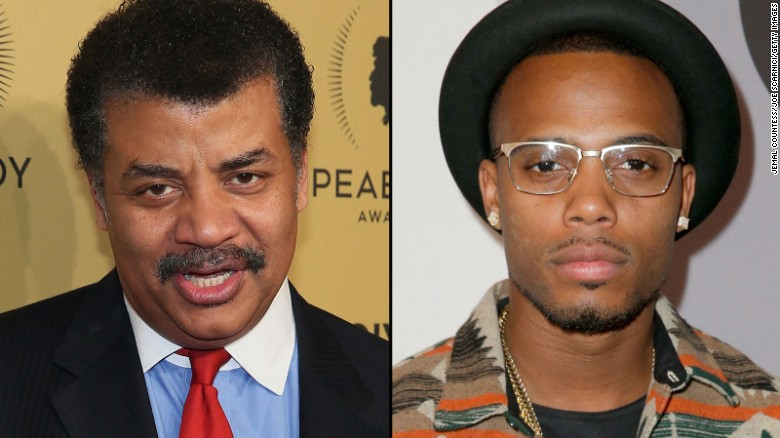 Rapper B.o.B. ripped by Neil deGrasse Tyson