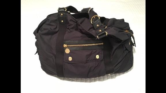 Deanna Neiers' maternity bag.