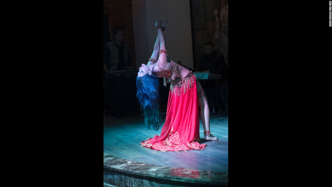 "Sultan wants to revive belly dancing as an art form in Egypt. ""Just like any other art form, it plays on the emotions of people,"" says Sultan. Unfortunately, she adds, society sees it more as a commodity. The government imposes restrictions on how much skin dancers can show and, at times, on their technique."
