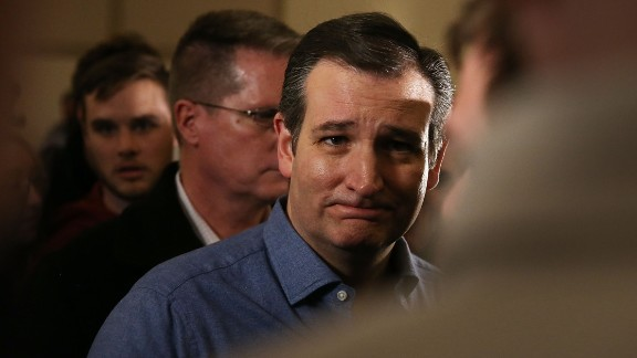 Republican presidential candidate Sen. Ted Cruz (R-TX) greets people during his campaign event at the Noah