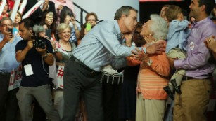 A mother-son story: How Barbara Bush tried to save Jeb's campaign
