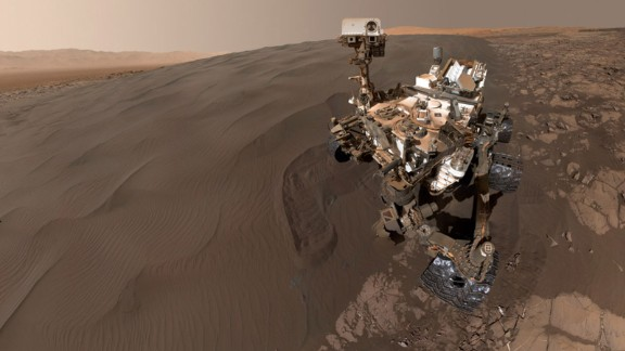 Five years ago and 154 million miles away, NASA's Curiosity Mars rover successfully landed on the planet. Take a look back at what the rover has been up to these past five years, including this selfie it took on January 19, 2016.