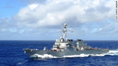 US sails warships through Taiwan Strait amid tensions with China