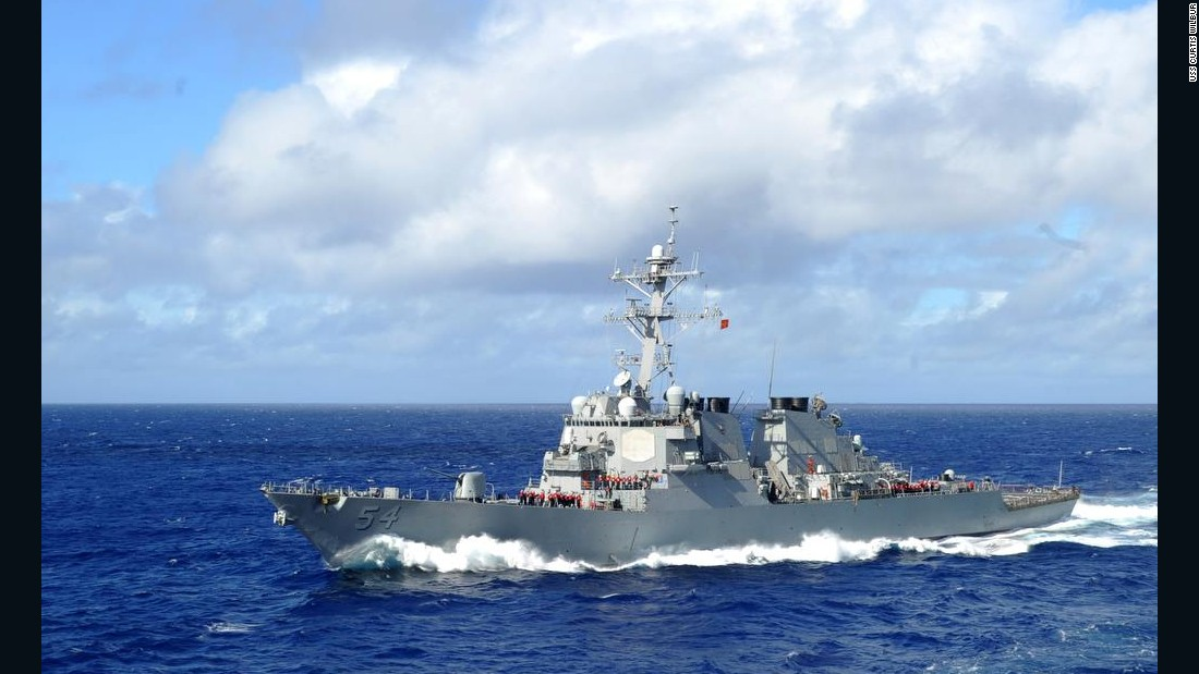 US sails warships through Taiwan Strait