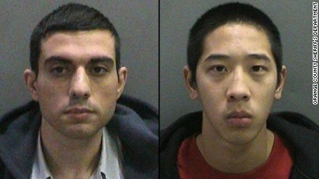 Hossein Nayeri and Jonathan Tieu, along with Bac Tien Duong, escaped from the maximum-security Orange County men's jail in Santa Ana.