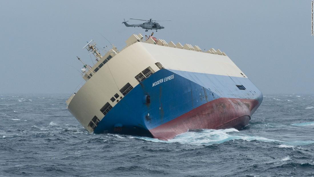 Schiffsunglück Norwegen