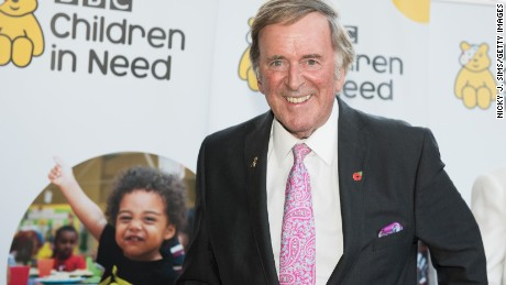 Terry Wogan was a regular fixture on Britain's TV screens for four decades.