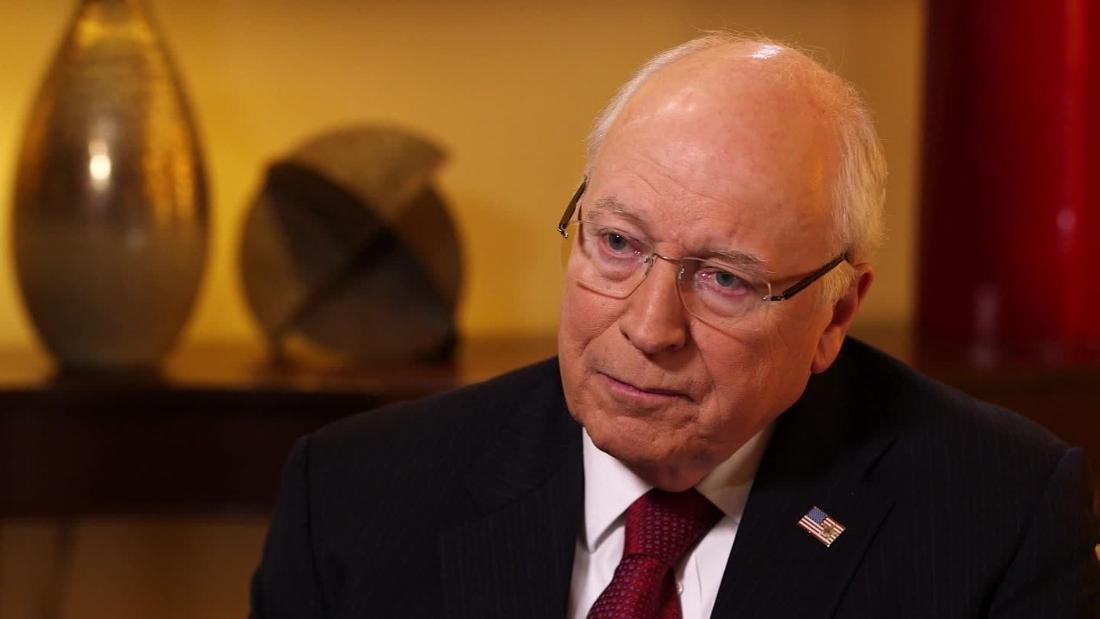 Cheney dick picture shooting