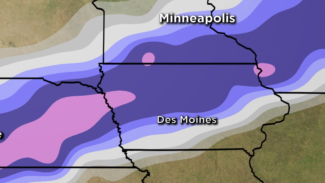 Iowa >> As Iowa caucuses near, state braces for blizzard - CNNPolitics
