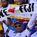 Wellington 7s fans fiji