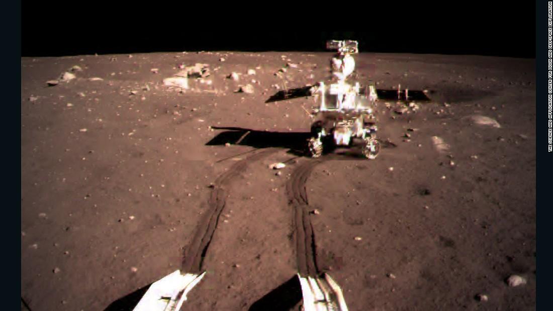 China: Photos show moon's surface in vivid detail - CNN