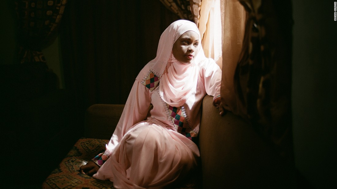 Farida Ado, 27, is one of the authors whose ambitions as a writer sit in conflict with the pressures of Kano's conservative society. Her husband will allow her to work as an author, but only because she can work from home.