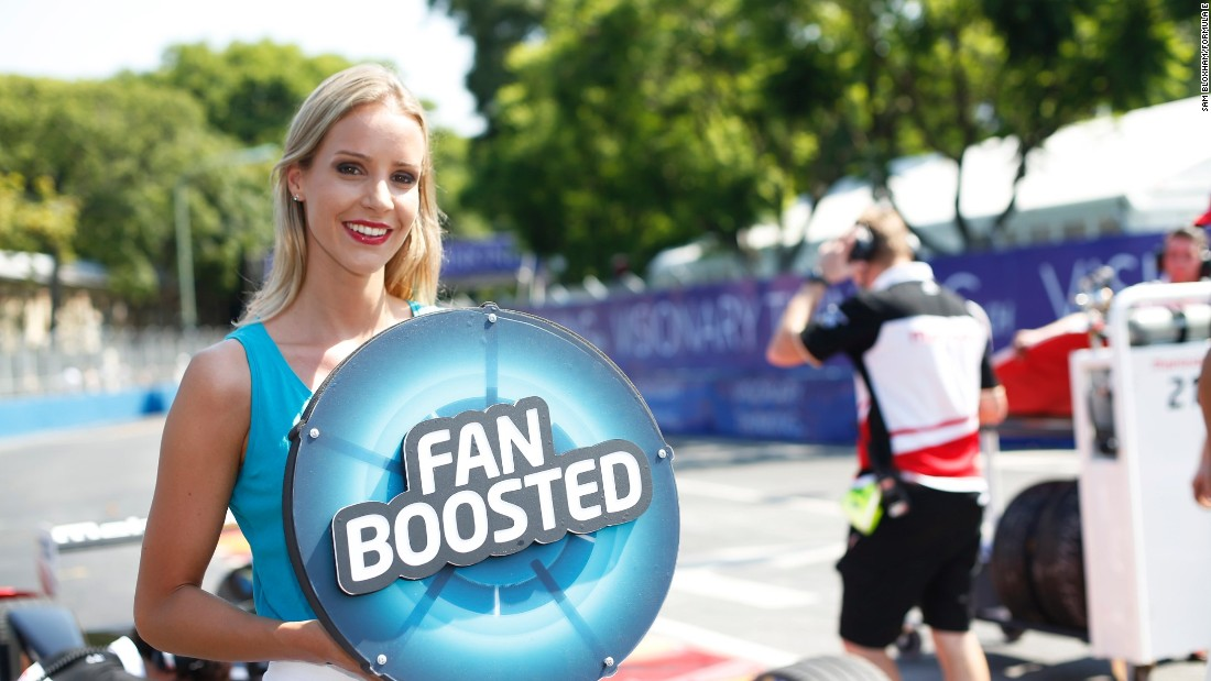 Formula E aims to bring fans closer to the sport. The Fan Boost vote means the audience can even give their favorite driver a 100kJ surge of power during the race. Frenchman Jean-Eric Vergne, pictured, proved popular with the fans in Uruguay.