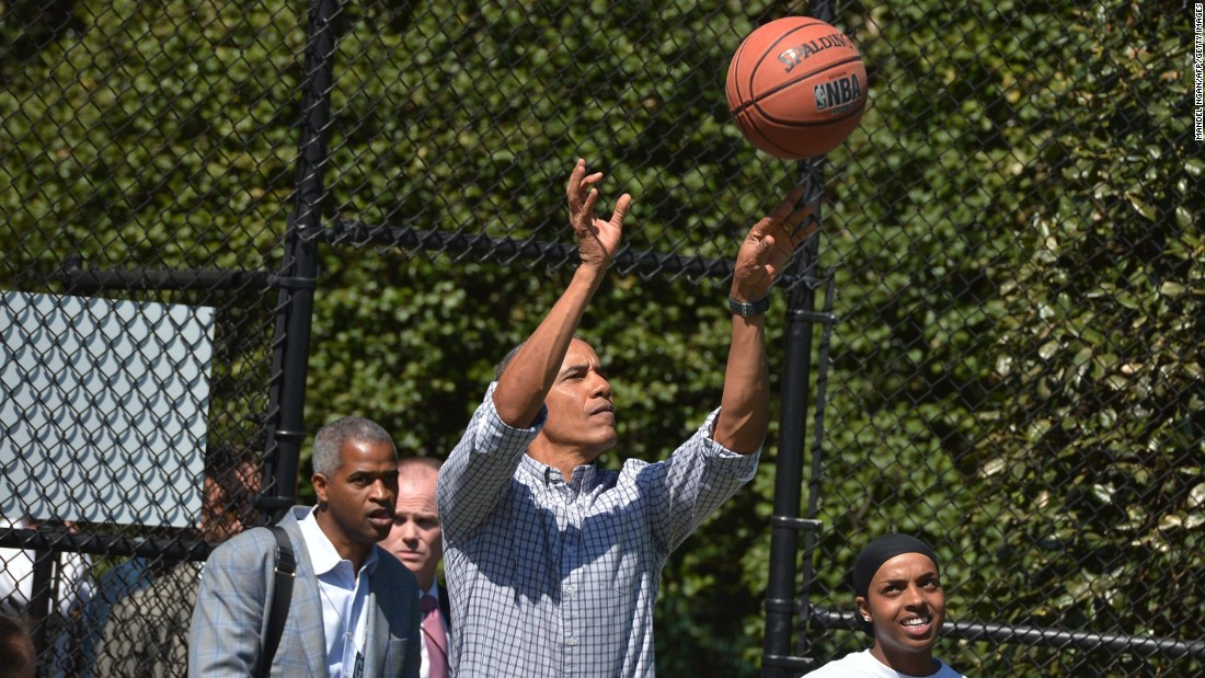 In addition to regularly playing golf, President Barack Obama also enjoys a game of basketball. Here's a look at the hobbies of other U.S. Presidents: