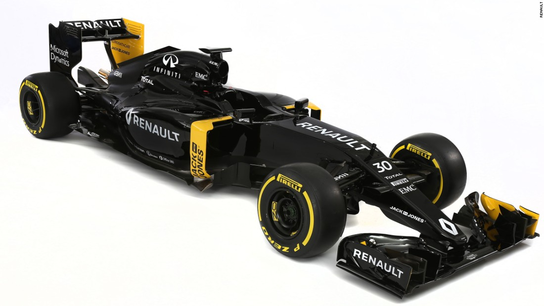 Renault has launched its new car, the RS16, for the company's return to Formula One in 2016 as a fully-fledged team.