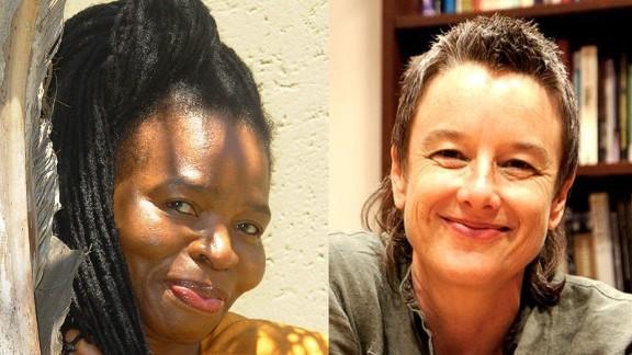 Co-editors Makhosazana (Khosi) Xaba and Karen Martin.