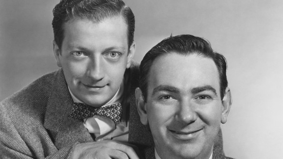 At left is Bob Elliott, half of the TV and radio comedy duo Bob and Ray. He died February 2 at the age of 92. For several decades, Elliott and Ray Goulding