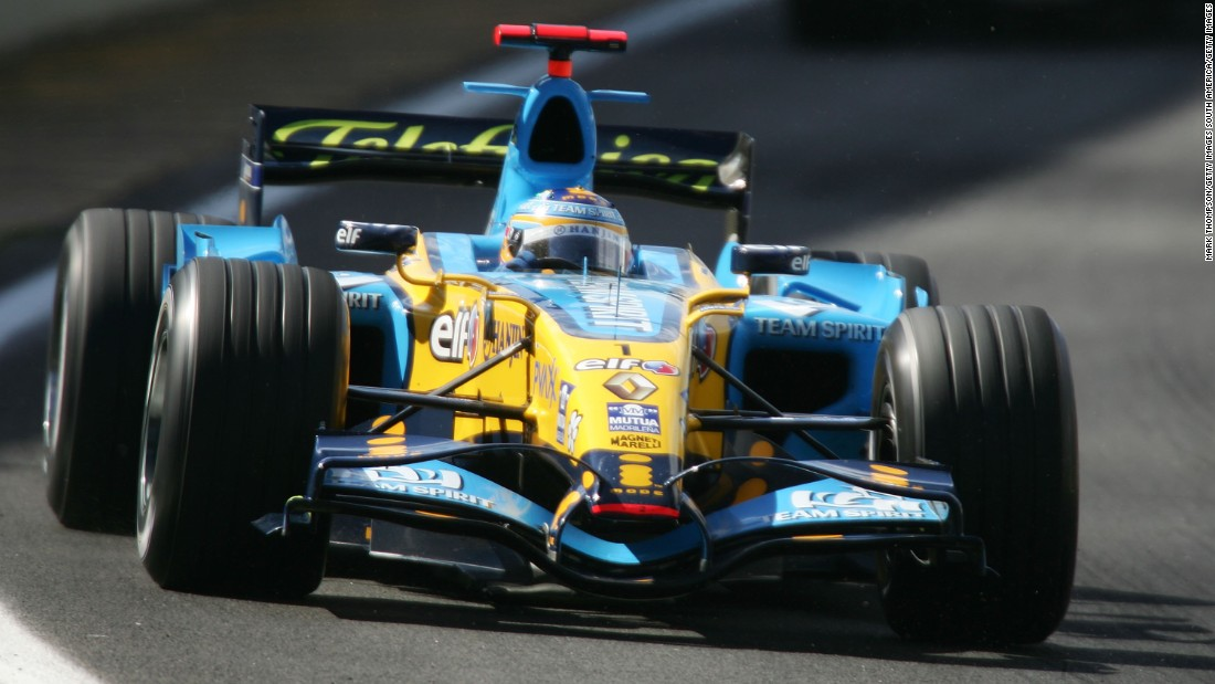 The team's last outright championship successes were in 2005 and 2006, when Fernando Alonso doubled up with the drivers' titles.