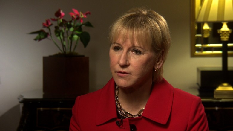 Swedish Foreign Minister on refugees, women
