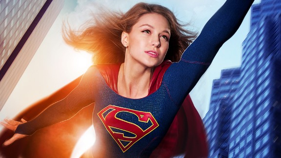 "Former ""Glee"" star Melissa Benoist (also seen in the Oscar-nominated ""Whiplash"") plays Supergirl in the CBS series of the same name."