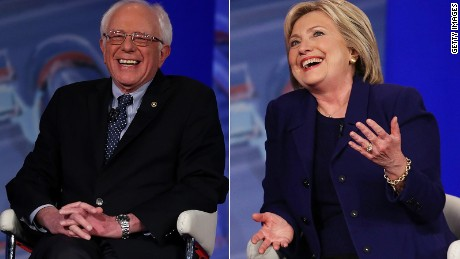 Clinton and Sanders argue over who's progressive