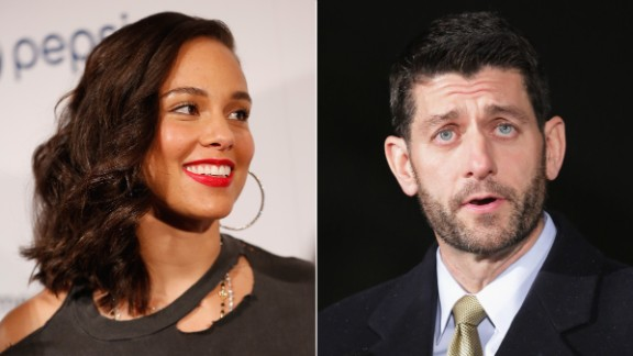 Alicia Keys has worked to get House Speaker Paul Ryan to call a vote on criminal justice reform.