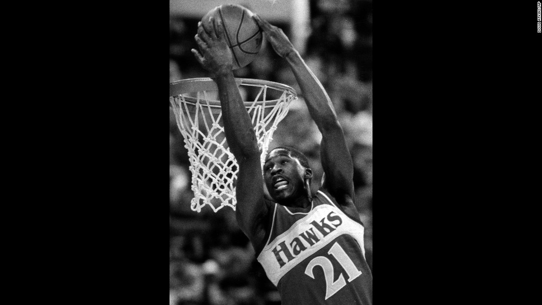 """The Human Highlight Film"" was impressive in 1984, finishing in third place. But he got the better of Erving and Nance this time around, flashing a variety of powerful dunks that included windmills, reverses and 360 spins. In the finals, Wilkins defeated a league rookie named Michael Jordan. The two would duel again in 1988."