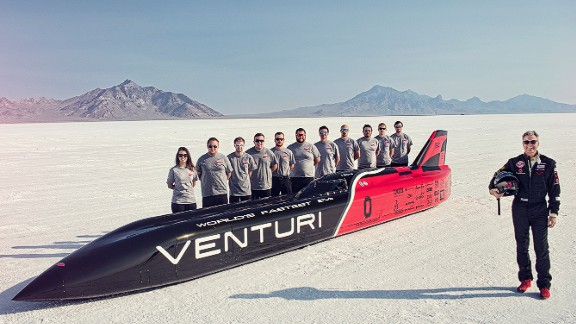 Automobile company Venturi is spearheading the charge to break the electric land speed record at the Utah salt flats. It hopes the technology will have applications not just in the sport of Formula E, but also for road cars of the future.