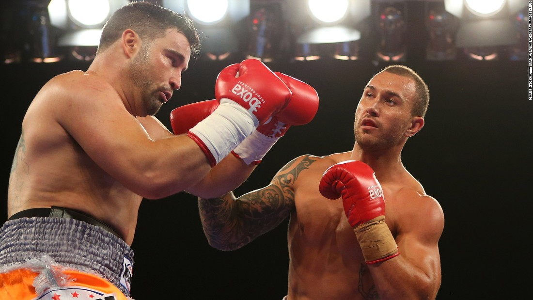 Cooper fought on the undercard, beating Barry Dunnett in their cruiserweight fight in Brisbane.