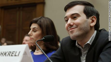 'Pharma Bro' Martin Shkreli smirks through hearing