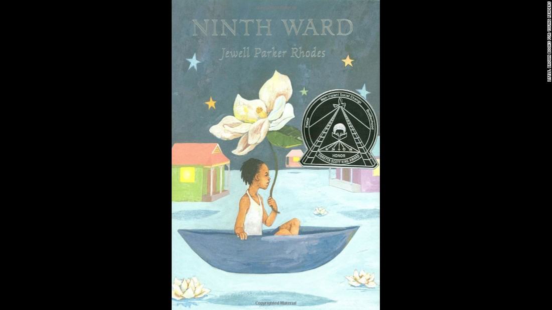 "Jewell Parker Rhodes' ""Ninth Ward"" tells the story of 12-year-old New Orleans resident Lanesha and her caretaker Mama Ya-Ya, who has a vision of a fast approaching hurricane -- Katrina."