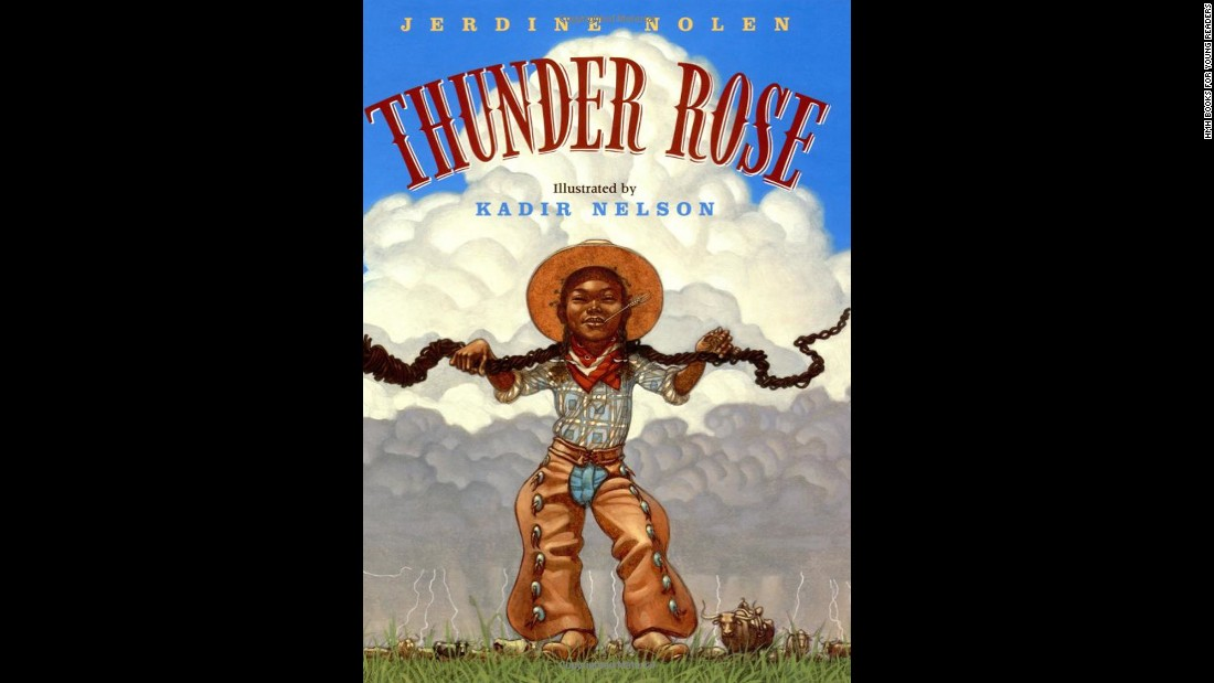 "In Jerdine Nolen's ""Thunder Rose,"" a teen with superhuman abilities meets her match in the form of a whirling storm."