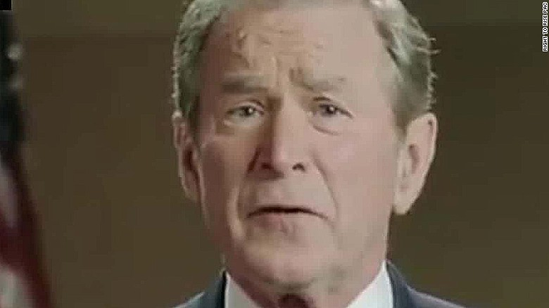Bush super PAC airing George W. Bush ad