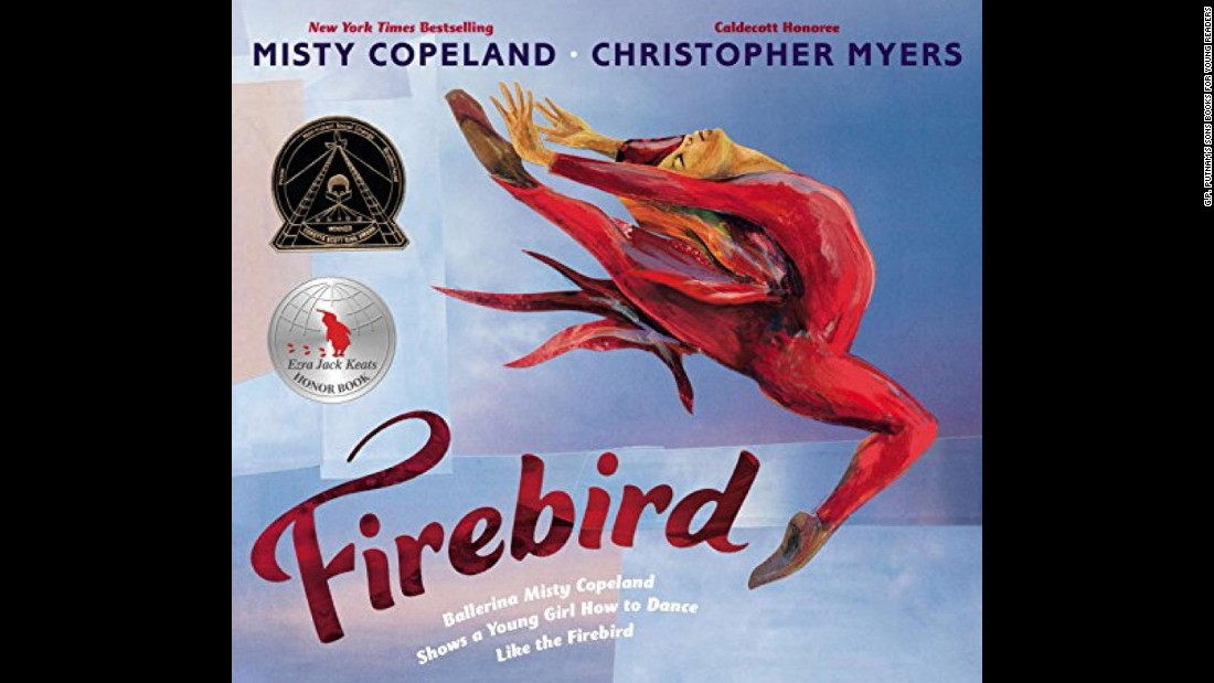 "In ""Firebird,"" ballerina Misty Copeland's first picture book, the dancer shows a young girl to follow her footsteps."