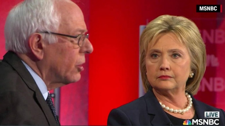 Sanders and Clinton argue over Obamacare