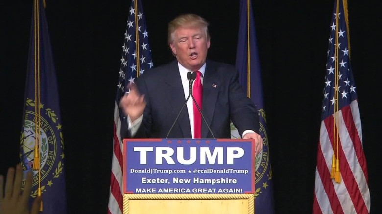 Trump steps up New Hampshire ground game