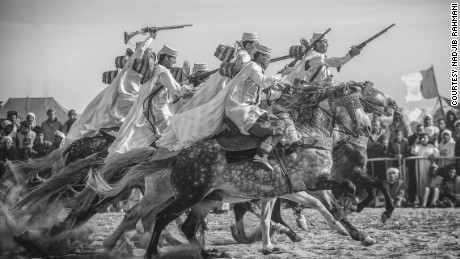 "The exhibition ""Horse, Men and Traditions"" features 50 photographs."