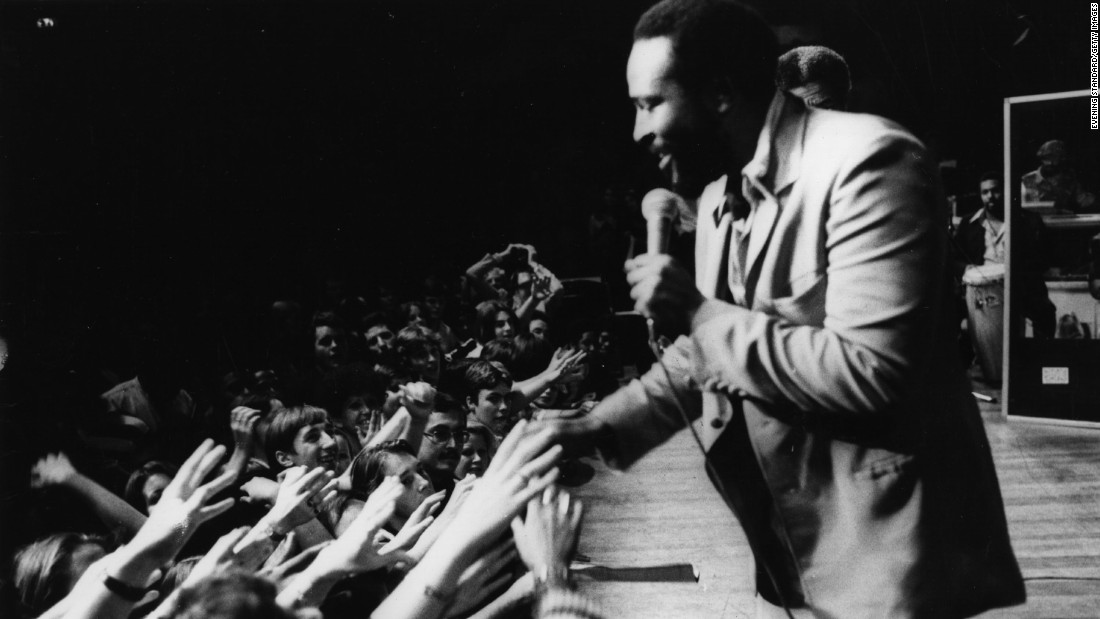 "<strong>Marvin Gaye</strong> (1939-1984) should be on this list just for ""Let's Get It On,"" his classic 1973 ballad of seduction. But Gaye's soulful voice also gave us the tortured-love classic ""I Heard it Through the Grapevine"" and the erotic ""Sexual Healing."""