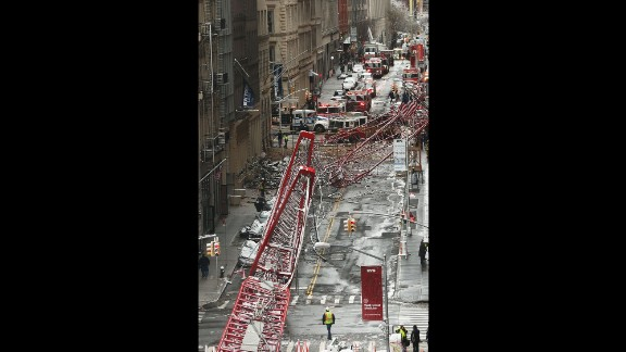 It's not immediately known what caused the collapse.