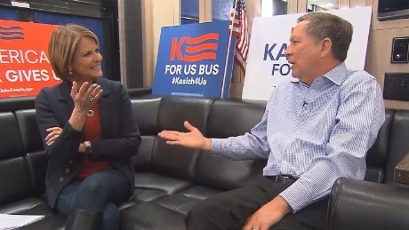Kasich: I think we're running second in New Hampshire