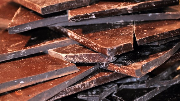 In certain chocolates, palm oil is used to help create a smooth and shiny appearance and keep it from melting.