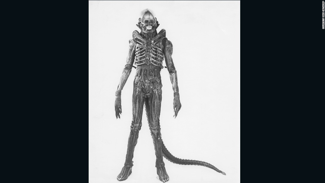 "The alien Badejo played was the fully-grown iteration on the creature that sprang (spoiler alert!) from <a href=""https://www.youtube.com/watch?v=JehjqlzXwIQ"" target=""_blank"">John Hurt's chest</a> during the course of the film. According to special effects supervisor Nick Allder, the response to that scene was largely real -- none of the cast knew quite how graphic it would be."