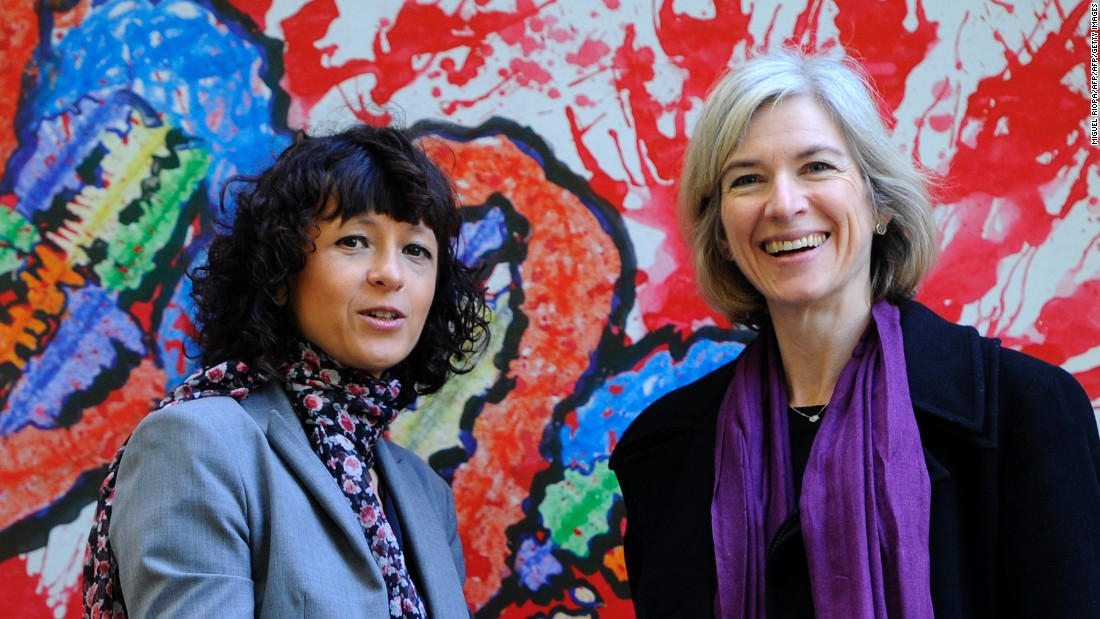 "Emmanuelle Charpentier (left), born in 1968, is a French researcher in Microbiology, Genetics and Biochemistry whilst Jennifer Doudna (right), born in 1964, is a Professor of Chemistry and of Molecular and Cell Biology at the <a href=""http://www.berkeley.edu/"" target=""_blank"">University of California, Berkeley</a>. Together, they discovered a versatile DNA editing technique to ""rewrite"" flawed genes in people and other living organisms, opening tremendous new possibilities for treating diseases.<br />"