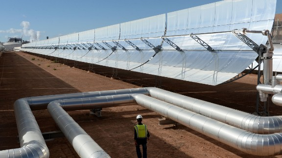 Morocco has committed to increasing its share of renewable energy generation to 42% by 2020.