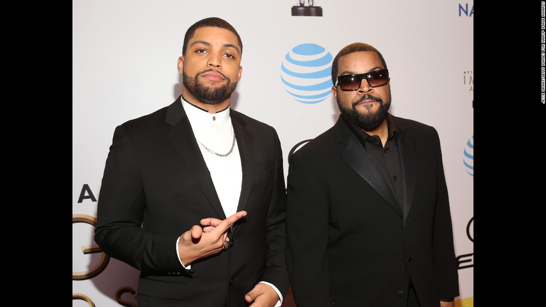 O'Shea Jackson Jr. and Ice Cube.