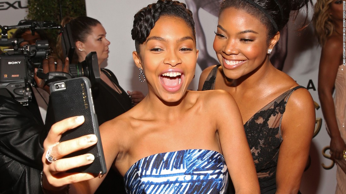 Yara Shahidi and Gabrielle Union