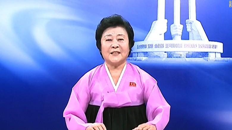 North Korea's revered news anchor