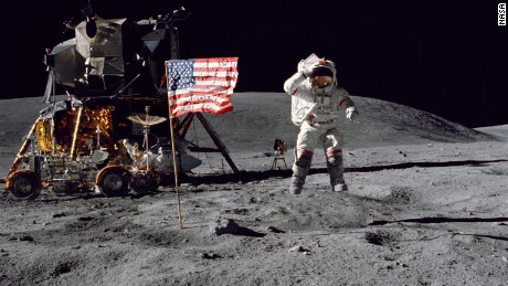 The American men who went to the moon