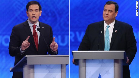 Rubio was on message at the GOP debate