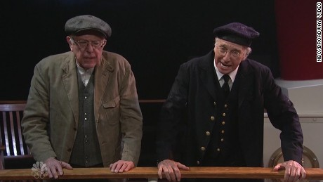 'SNL' audience feels the Bern